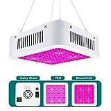LED Pflanzenlampe 600W Vollspektrum LED Grow Light Wachstumslampe für zimmerpflanzen mit Daisy-Chain Funktion(192 leds)