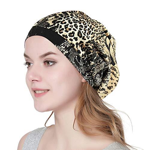 Soft Cap für Schwarze Frauen Super Slouchy Mütze mit Inside Satin (Glatze-mütze)