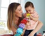 """Lamaze Babyspielzeug mit Musik """"Musik-Wurm"""" mehrfarbig – hochwertiges Kleinkindspielzeug – fördert den Tastsinn und das Hörvermögen Ihres Kindes – ab 0 Monate - 4"""