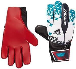 adidas Boy's Predator Pro Goalkeeper Manuel Neuer Glove - White/Vivid Teal/FCB True Red, Size 6