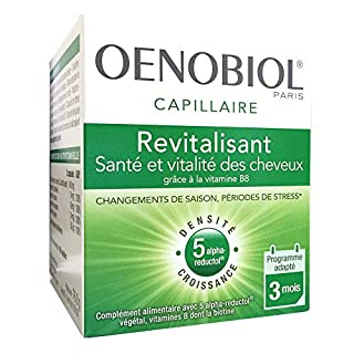 Oenobiol Nahrungsergänzungsmittel, Gesundheit und Wachstum für die Haare, 180Kapseln