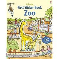 First Sticker Zoo (Usborne First Sticker Books): 1