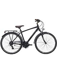 28pulgadas bicicleta de trekking hombre 24velocidades Cinzia Crystal, tamaño 48 cm, tamaño de rueda 28.00 inches