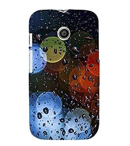 PrintVisa Colorful Ring Design 3D Hard Polycarbonate Designer Back Case Cover for Motorola Moto E :: Motorola Moto E XT1021 :: Motorola Moto E Dual SIM :: Motorola Moto E Dual SIM XT1022 :: Motorola Moto E Dual TV XT1025