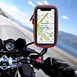 solawill Support Téléphone étanche Universel Support Moto 360° Rotatable Scooter...