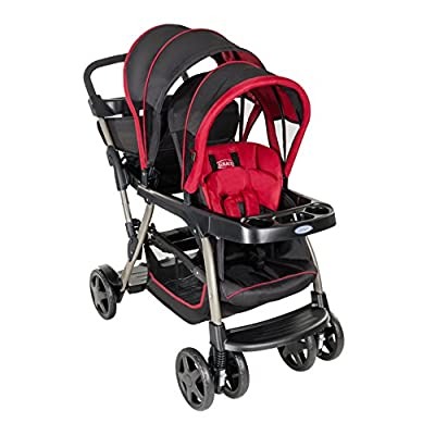 Graco Ready2Grow Double Pushchair, Chilli Sport  GSDZSY
