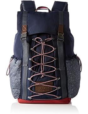Tommy Hilfiger Herren Th Hiking Backpack Rucksack, Blau (Tommy Navy), 21 x 49 x 28.5 cm