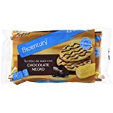 Bicentury - Tortitas de maíz con chocolate negro, Paquete de 4 x 22.6 g, 90.4 g