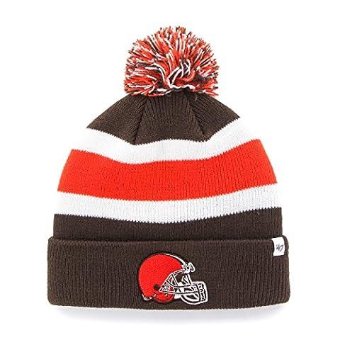 NFL '47Breakaway Cuff Knit Chapeau, mixte, marron, taille unique