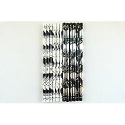 PartyErasers Paquet de 12 Musique à thème Noir et Blanc Grands crayons Piano HB (2 modèles)