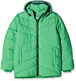 NAME IT Jungen Jacke NKMMIL Puffer Jacket Camp, Grün Kelly Green, 158