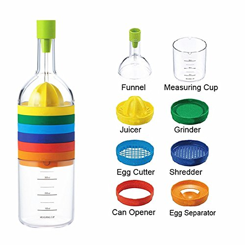 SHENNOSIÃ'® Multipurpose Function Kitchen Tool Bottle 8 In 1 by SHENNOSIÃ'®