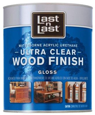Last N' Last Clear Waterborne Interior Polyurethane Finish-INT GLOSS W/B URETHAN