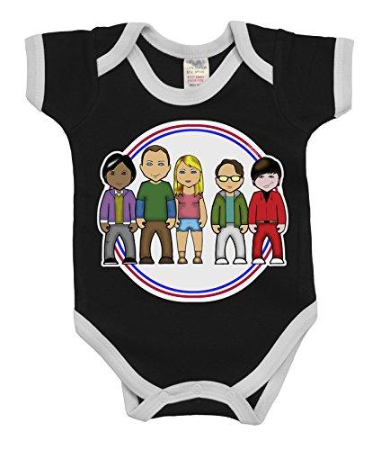 VIPwees Baby Kleidung Babygrow Nerdy Physicists Boys & Girls Baby Bodysuit