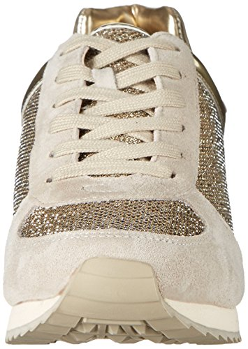 Nine West Telly Suede Fashion Sneaker Off White/Multi