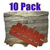 10er Pack Dachschindeln Bieberschwanz Rot 35 m² Profi