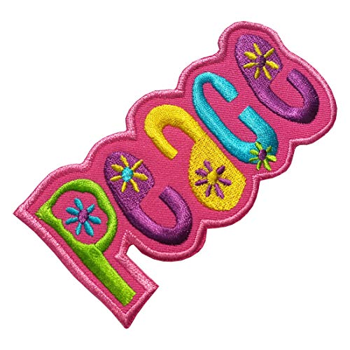 Parches Lucky, Parche, Aplique, Planchado, Iron on Patch - Peace, Love