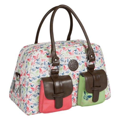 lassig-vintage-metro-bag-wickeltasche-babytasche-inkl-wickelunterlage-butterfly-spring