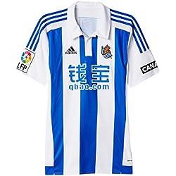 1ª Equipación Real Sociedad 2015/2016 - Camiseta oficial adidas, talla L