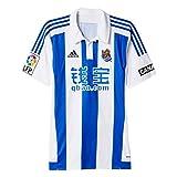 1ª Equipación Real Sociedad 2015/2016 - Camiseta oficial adidas, talla M