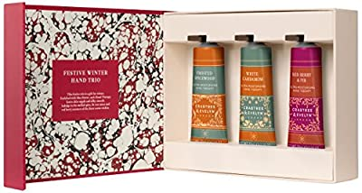 Crabtree & Evelyn Cold Christmas Hand Therapy Trio, 25 g, Pack of 3