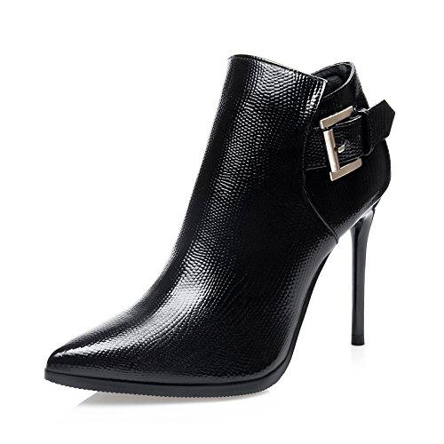 FLYRCX Autunno Inverno caldo caldo tallone sottile stivali personalità sexy tacco alto scarpe di partito B