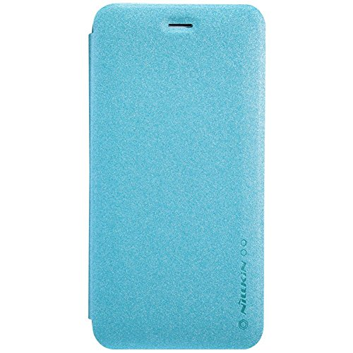 Nillkin Sparkle Leather Flip Stand Bumper Back Case Cover ForApple iPhone 6 Plus 5.5 inch - Power Blue  available at amazon for Rs.399