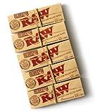 5 x opuscoli RAW 1 1/4 Connoisseur non raffinati naturali Cartine organici + Filtri