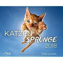 Katzensprünge 2018: Wandkalender