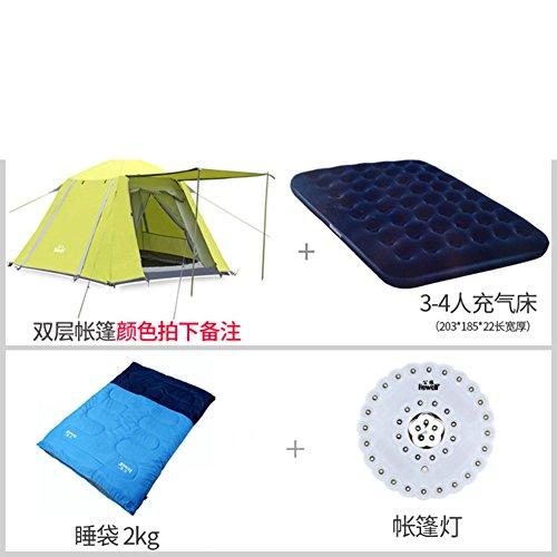automatische outdoor camping Zelt/Quadratische extra großen Raum Freizeit Zelt/3-4Person camping Zelt-I