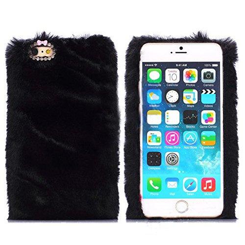 Monkey Cases® Fourrure Look-Moelleux-Souple Case-Étui Pour téléphone portable-Peluche