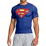 Under Armour Herren Alter Ego Compression Short Sleeve Superman Shirt