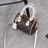 ZHANGJIA Printed Tasche, in in Super Fire Tasche, Kissen Tasche, Mini Tasche, Single Umhängetasche, Rice White Trumpet