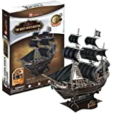 Queen Annes Revenge, 155 Piece 3D Jigsaw Puzzle Made by CubicFun 3D Puzzle (japan import)