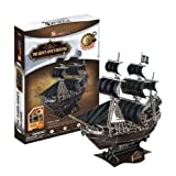 Cubic Fun 3D Jigsaw Puzzle Building Scale Model - Queen Annes Revenge Ship