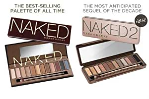 Urban Decay Naked 1 and Naked 2 Palette Duo