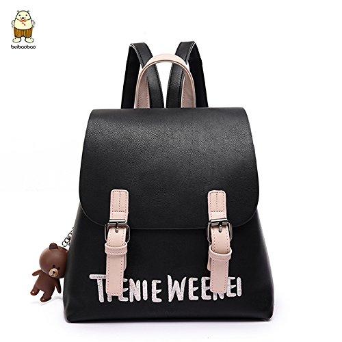 Umhängetaschen koreanischen Cute Backpack Rucksack Reisetasche Tasche All-Match Tide b