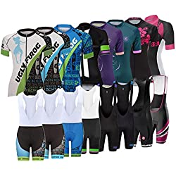 Uglyfrog xnumx esportes das mulheres desgaste ao ar livre de manga curta maillot ciclismo roupas de triathlon verão respirável dxzxnumx