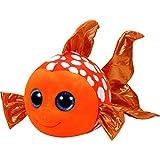TY 37146 - Sami - Clownfisch Pluschtier mit Glitzeraugen  Glubschi's  Beanie Boo's, 24 cm