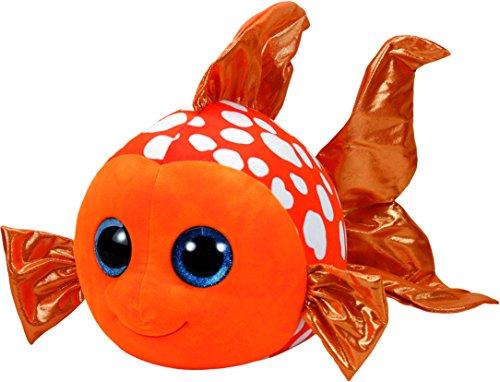"""Beanie Boo Fish - Sami - Orange - 28cm 9"""""""
