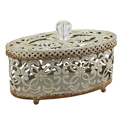 Stonebriar sb-6082a Romantische Dekorative durchbrochener Box mit Deckel