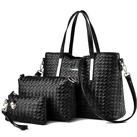 Vincico , Sac pour femme à porter à l'épaule noir noir - noir - noir,