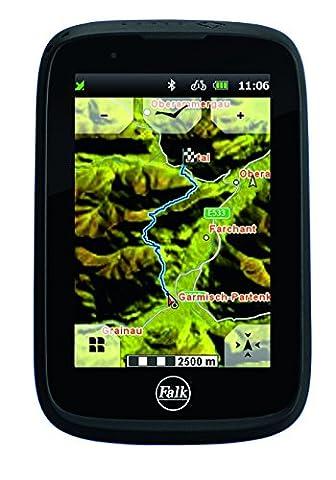 Falk Tiger Blu Bluetooth Outdoor Navigationsgerät, Schwarz,
