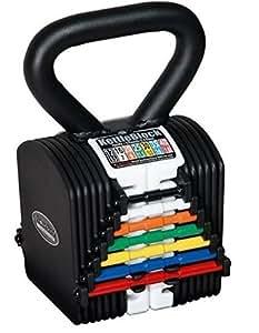 PowerBlock Kettleblock, mixte, IB-KB40, noir/blanc, 40-Pound
