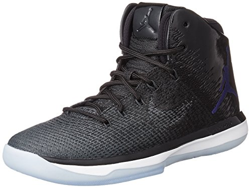 Nike Herren 845037-002 Basketball Turnschuhe Schwarz