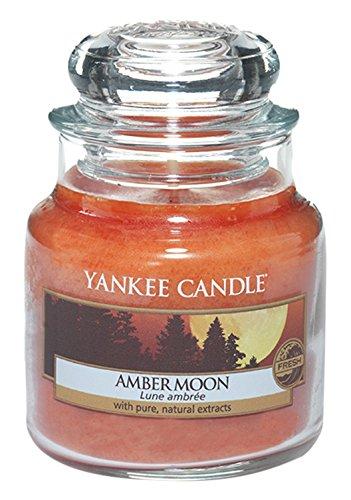Yankee Candle Classic Housewarmer Klein, Amber Moon, Duftkerze, Raum Duft im Glas/Jar, 1315049E