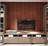 Yosot Modern Gestreifte Board Effekt Tapete Schlafzimmer Wohnzimmer Tv Hintergrund Wind Tapete Brown