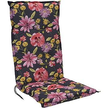 coussin pour fauteuil dossier haut noir chaise de jardin avec sangle facile d 39 entretien