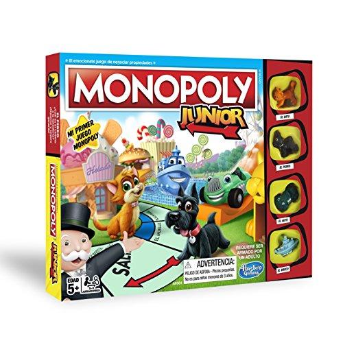 Hasbro Gaming   Monopoly Junior  versión Española (Hasbro A6984546)