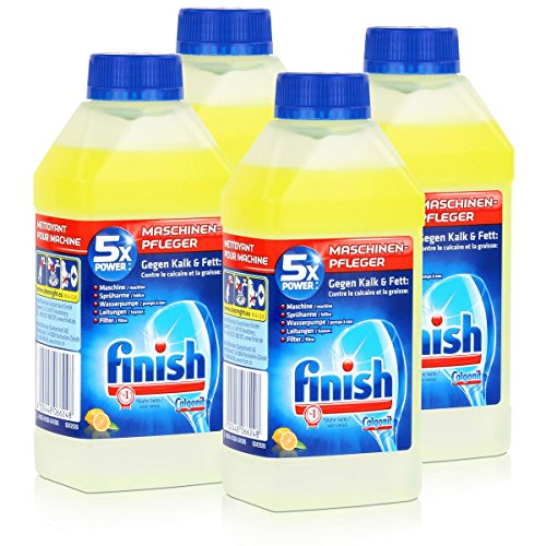 Calgonit Finish Spül-Maschinen-Pfleger Citrus 5xPower 250ml (4er Pack)